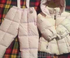 MONCLER COMPLETO X SCI
